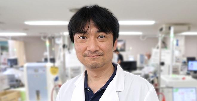 透析センター長 谷本 新学医師の写真