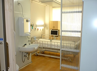 無菌治療室の写真