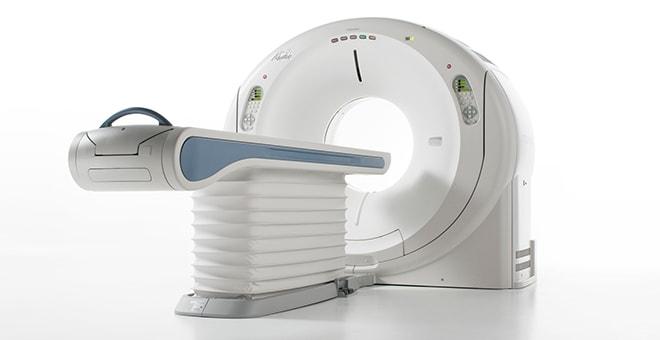 64列CT(X線コンピューター断層装置 Canon Medical Systems社製 Aquilion CXL)の写真